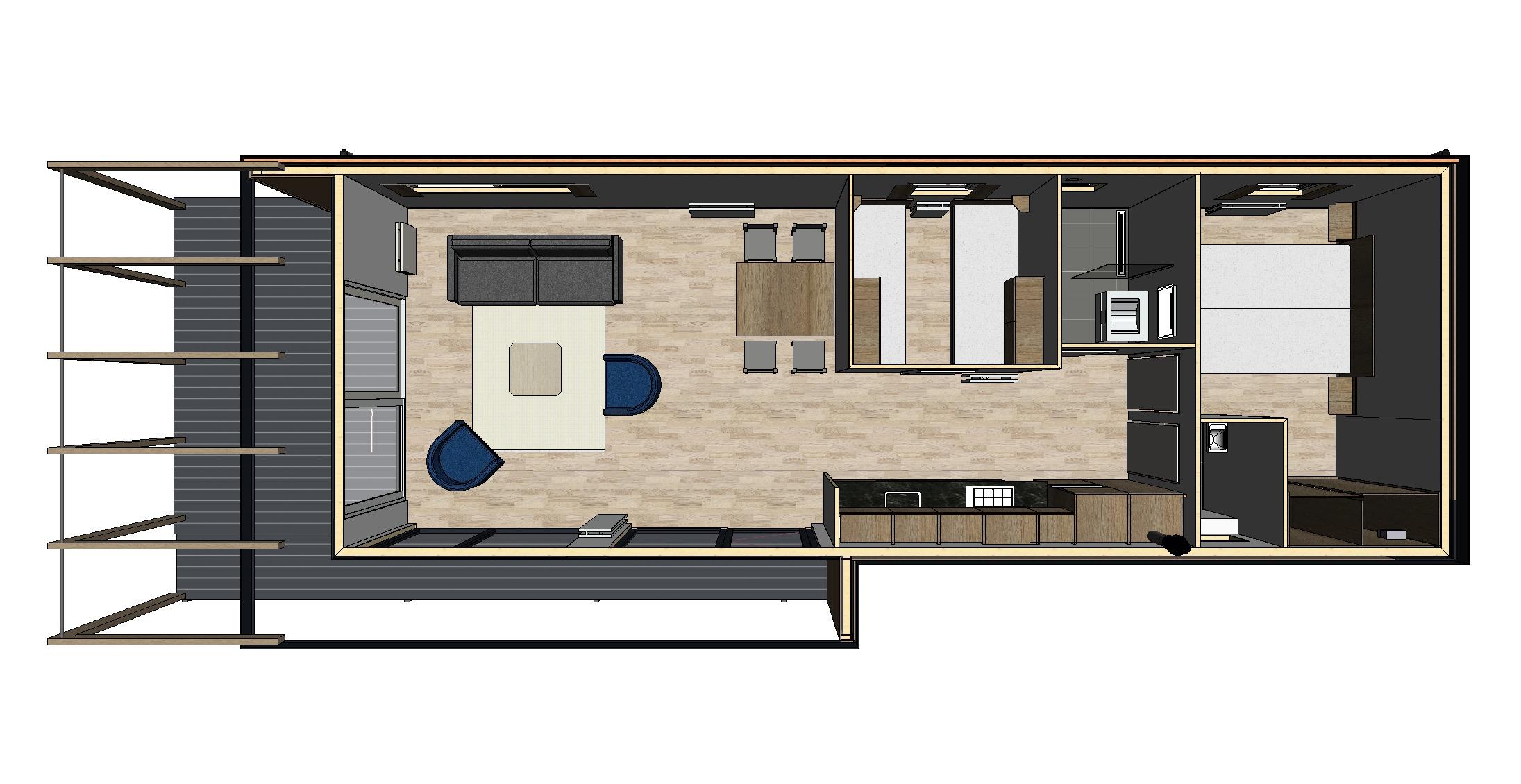 Voorbeeld Bestek Badkamer : Chalet new bay een lust voor het oog arcabo